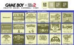 Game Boy Palette: Superball Ivory