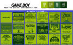 Game Boy Palette: Greenscale Ver. (A classic!)