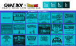 Game Boy Palette: Super Saiyan Blue