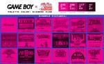 Game Boy Palette: Bizarre Pink