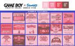 Game Boy Palette: Sanrio Pink