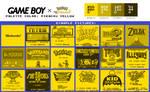 Game Boy Palette: Pikachu Yellow