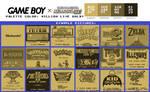 Game Boy Palette: MILLION LIVE GOLD!