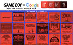 Game Boy Palette: Google Red