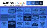 Game Boy Palette: Google Blue