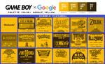 Game Boy Palette: Google Yellow