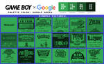 Game Boy Palette: Google Green