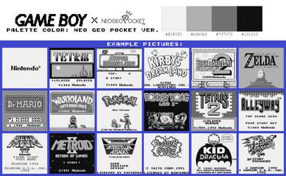 Game Boy Palette: Neo Geo Pocket Ver.