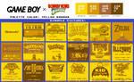 Game Boy Palette: Yellow Banana