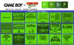 Game Boy Palette: Green Banana