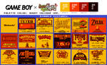 Game Boy Palette: Angry Volcano Ver.
