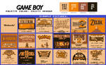 Game Boy Palette: Fruity Orange