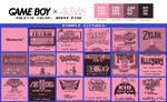 Game Boy Palette: AKB48 Pink