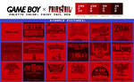 Game Boy Palette: Fairy Tail Red