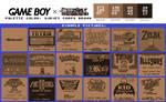 Game Boy Palette: Survey Corps Brown