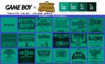 Game Boy Palette: Island Green