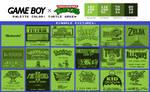 Game Boy Palette: Turtle Green