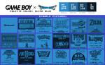 Game Boy Palette: Slime Blue