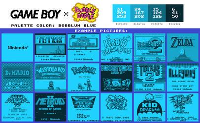 Game Boy Palette: Bobblun Blue