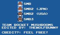 Team Rocket Mushroom Sprites