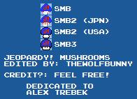 Jeopardy! Mushroom Sprites