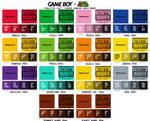 Game Boy Palette Set: Super Mario Spectrum