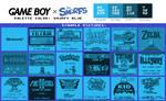 Game Boy Palette: Smurfy Blue
