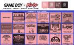 Game Boy Palette: Super Star Pink
