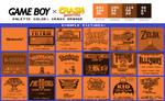 Game Boy Palette: Crash Orange