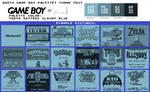 Game Boy Palette: TOKYO SKYTREE CLOUDY BLUE