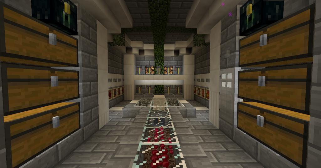 Best Minecraft Factions Chest Room Design