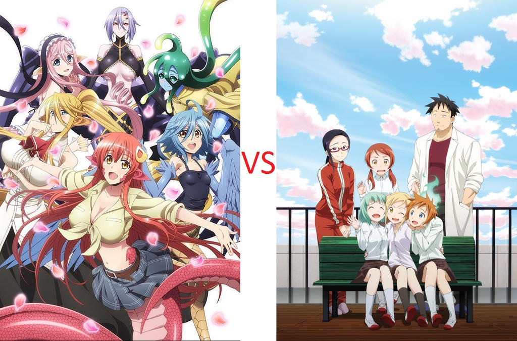 Monster Mesume VS Interviews with Monster Girls by a22d on