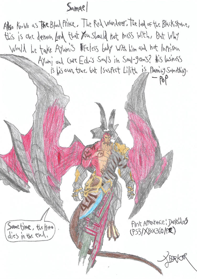 Samael from Darksiders by a22d on DeviantArt