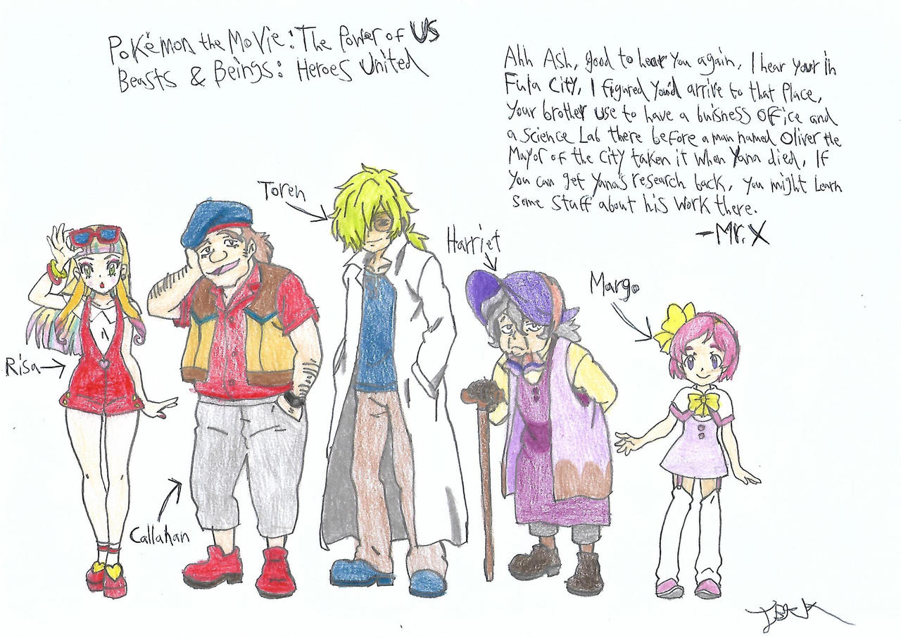 Heroes United Friends Of Ash 2 Pokemon Earth 3 By A22d On Deviantart