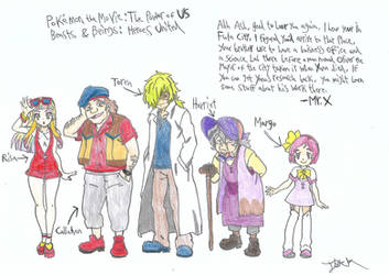 HEROES UNITED Friends of Ash 2 (Pokemon Earth 3) by a22d