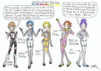 PreCure All Stars EndGame Spacesuit 1 by a22d