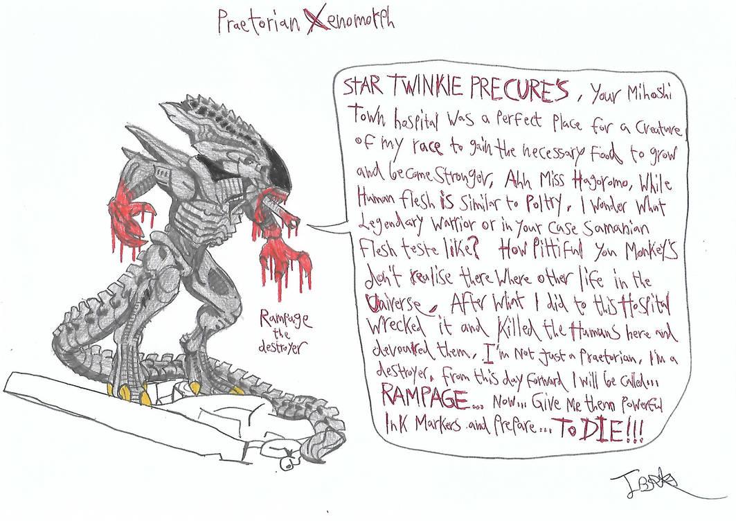Praetorian Xenomorph (Rampage) by a22d