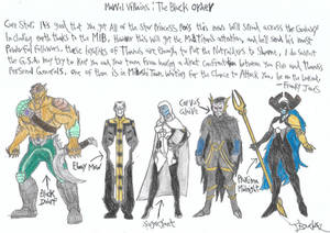 Marvel Villains 8 (The Black Order)