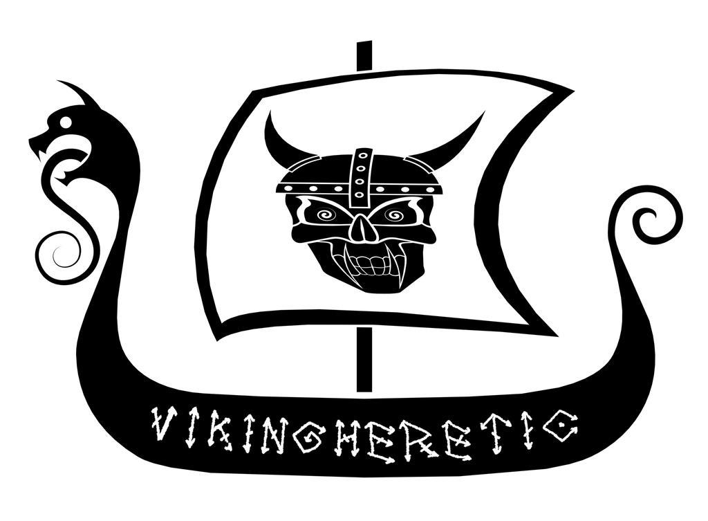 Vikingheretic Logo by NeuronalOverload