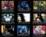 DC Comics Alignment Chart
