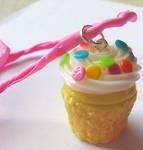 Custom Birthday Cupcake Charm