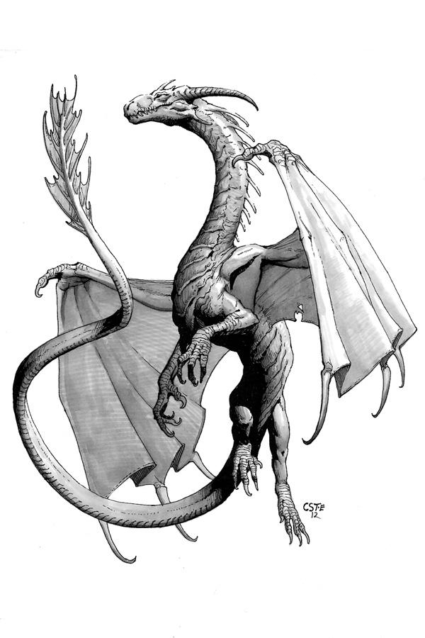 Mithril Dragon by CoryTregoErdnerTAD