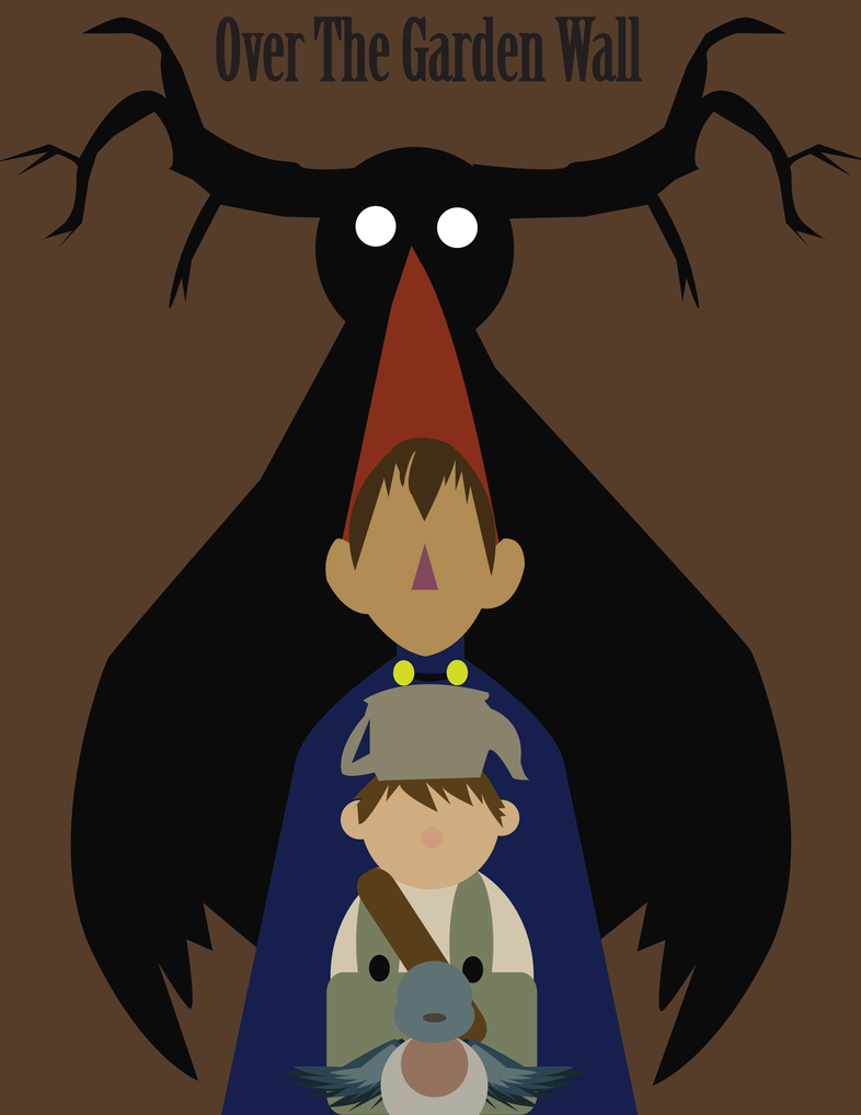 Over The Garden Wall-minimalist by Angelichu