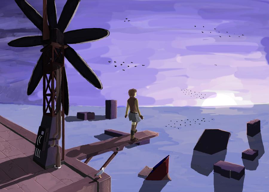 Windmill by autumnrainstudios
