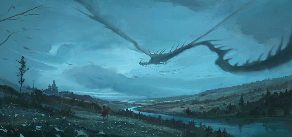 Dragon fly by Nik-Moskvin