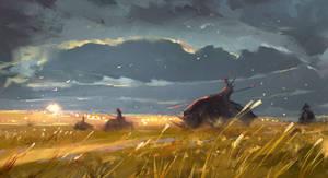 Golden fields sketch