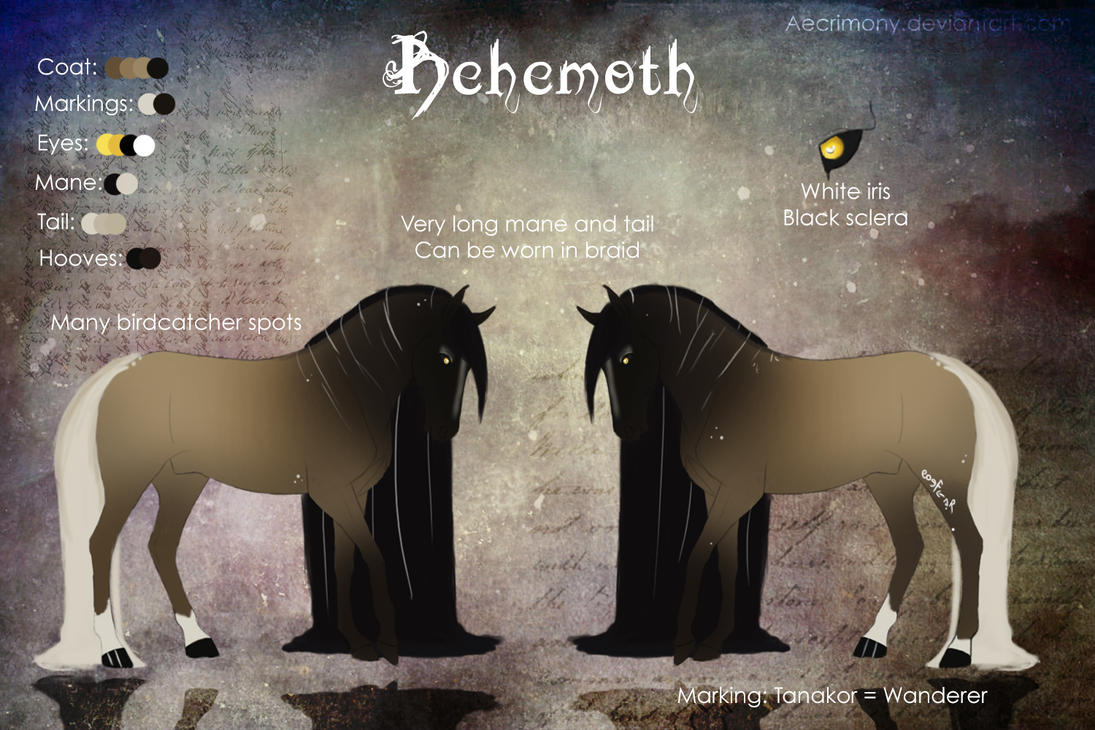 Behemoth by Aecrimony