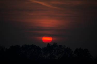 Autumn Sunset by Kartumandurix