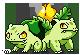 Shiny Bulbasaur and Ivysaur by MeoWmatsu