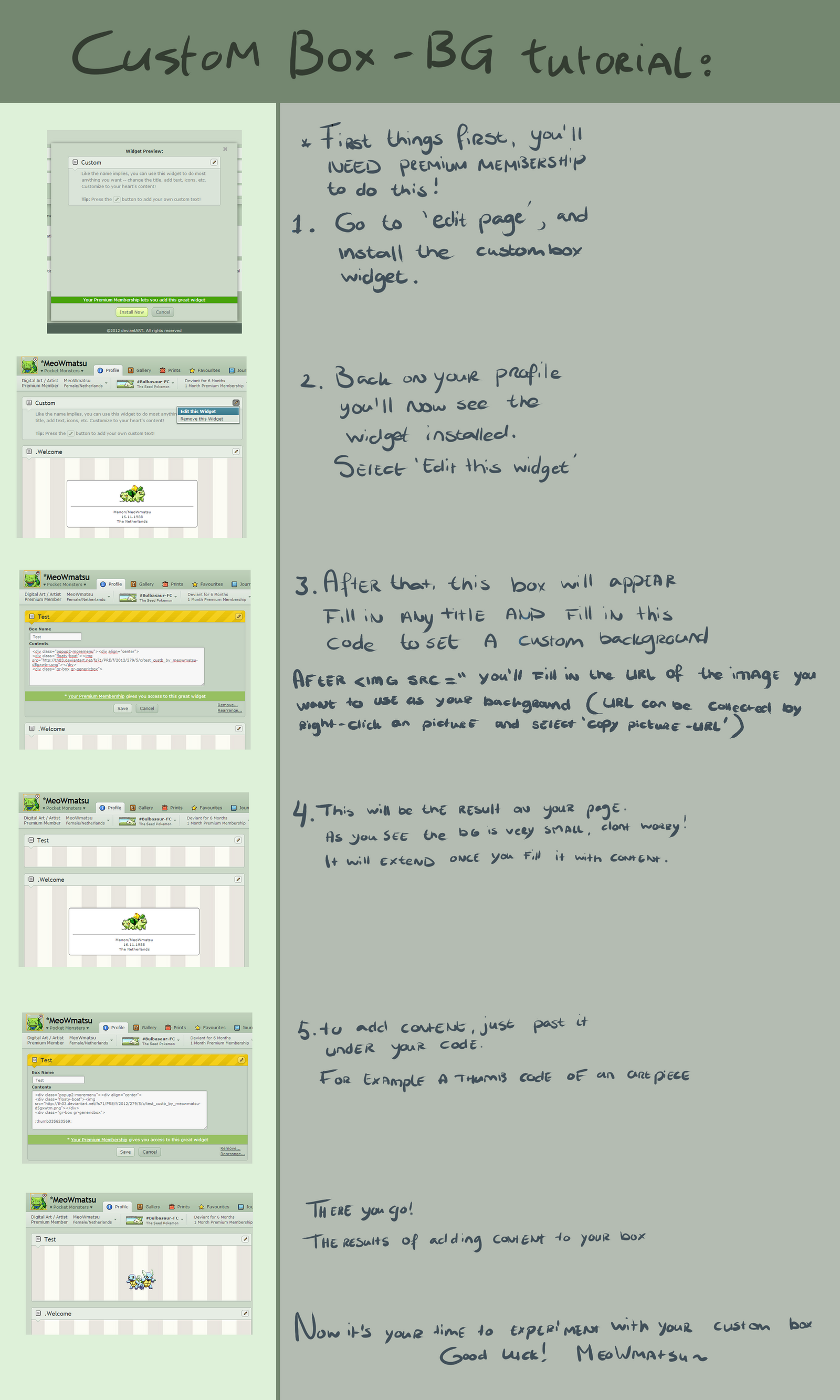 Custom box - Background tutorial by MeoWmatsu